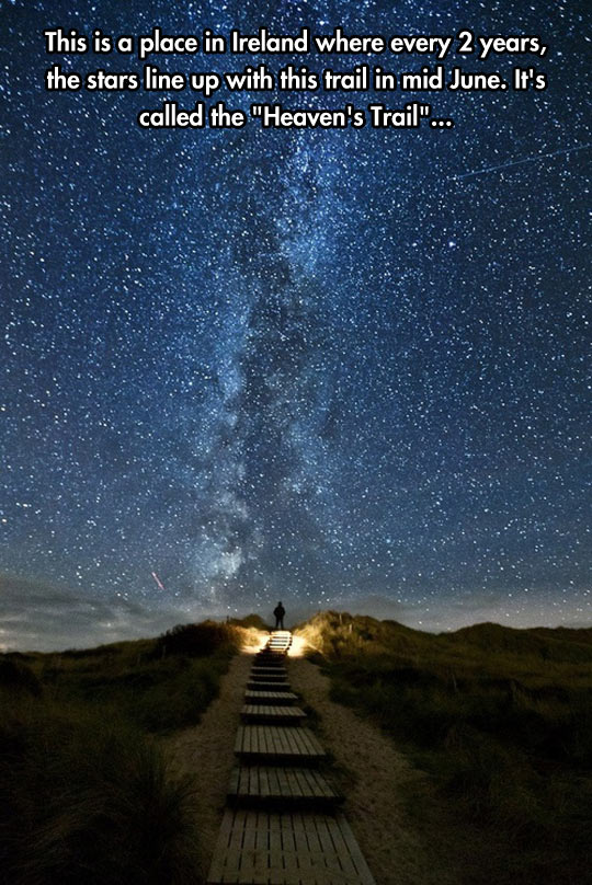 Beautiful Trail To Heaven