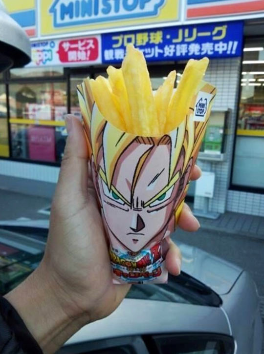 Japan Really Knows How To Sell French Fries
