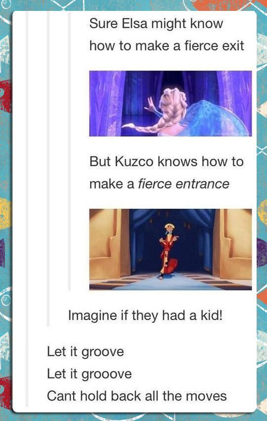 Imagine If They Had A Kid