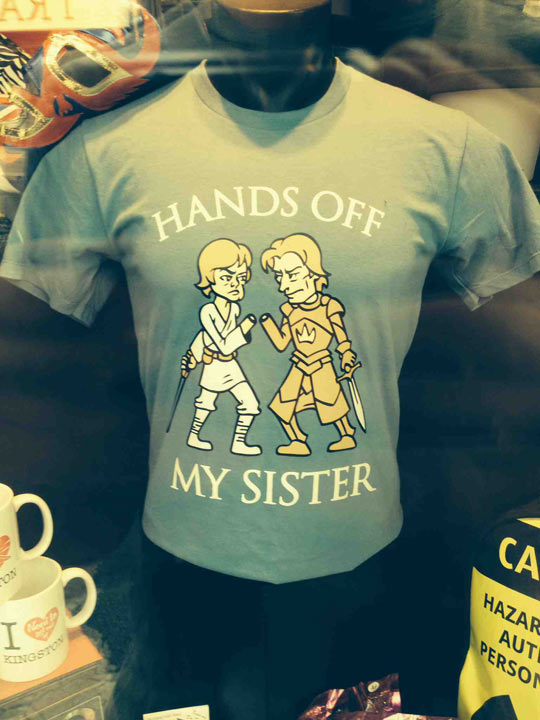 Get Your Dirty Hands Off My Sister