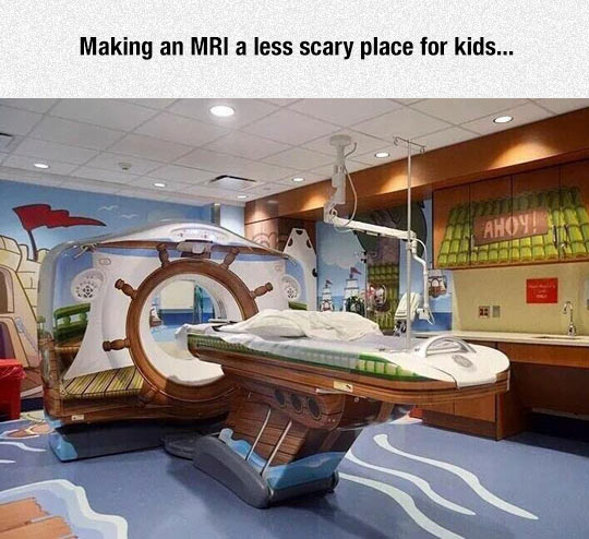 Less Scary Place For Kids