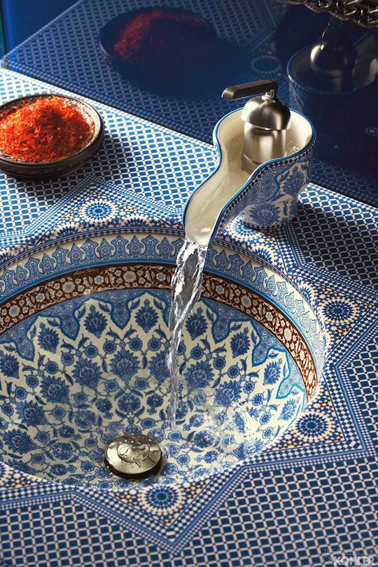 Breathtaking Moroccan Sink