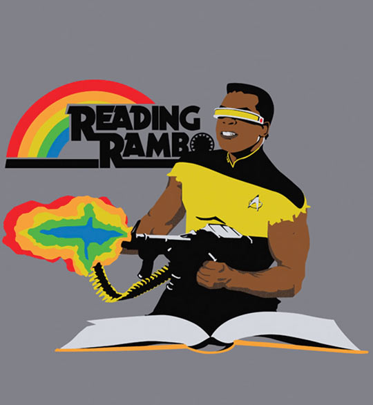 cool-Reading-Rambo-Star-Trek-book