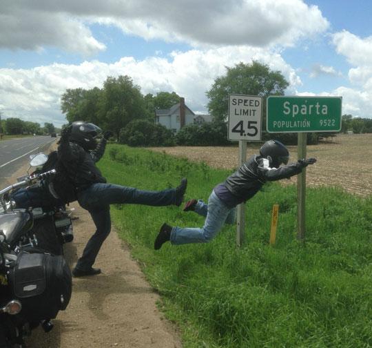 cool-Sparta-sign-kick-road