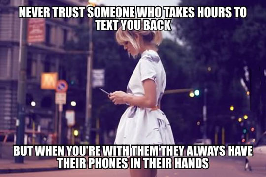 Those People Are Not To Be Trusted