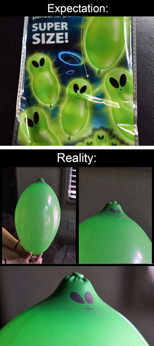 Alien Balloon Reality