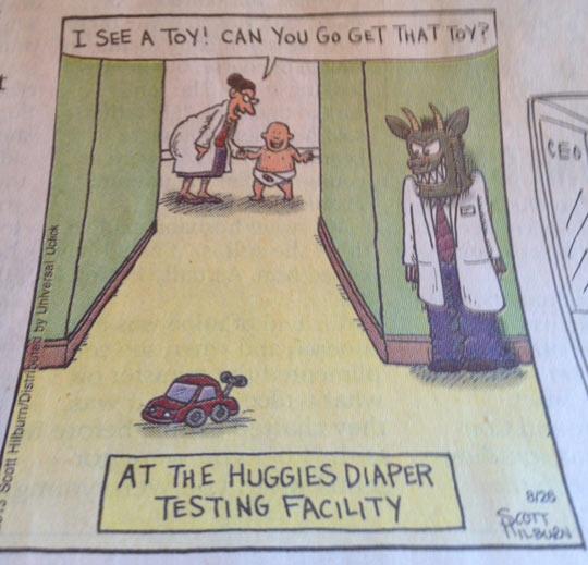 Diaper Testing Facility