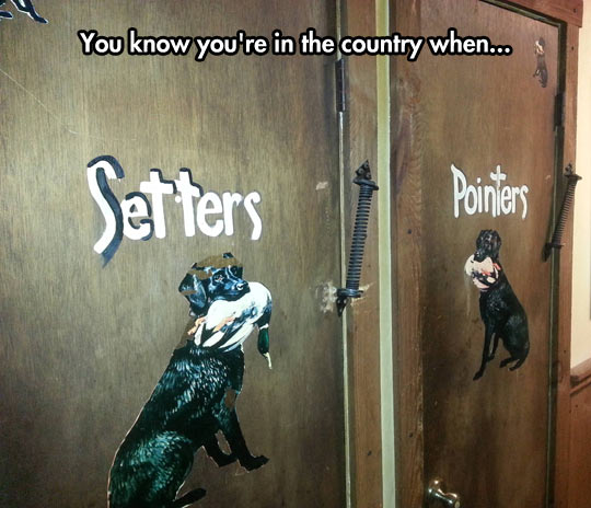 Country Restroom