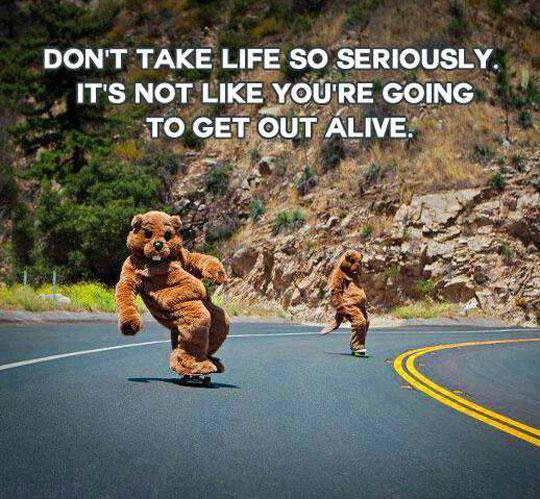 Taking Life Seriously