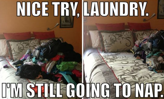 Not Going To Happen, Laundry