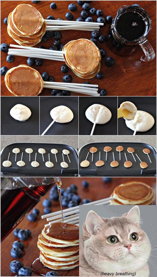 Delicious Pancake-Lollipop