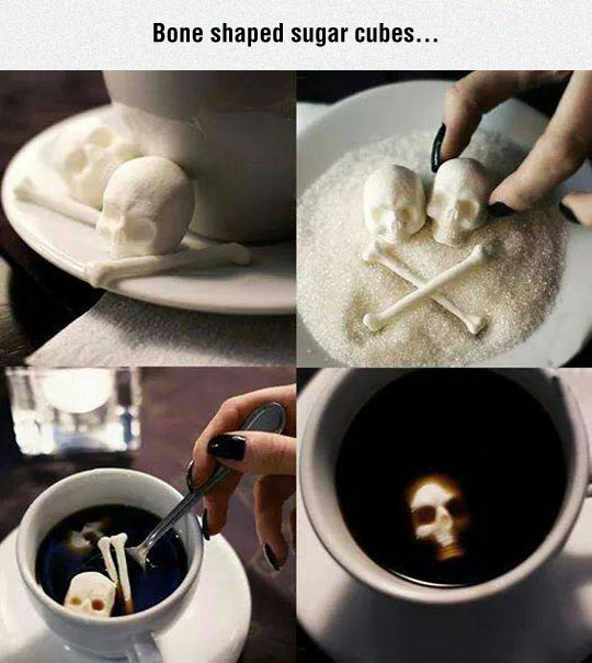 cool-bone-shaped-sugar-coffee