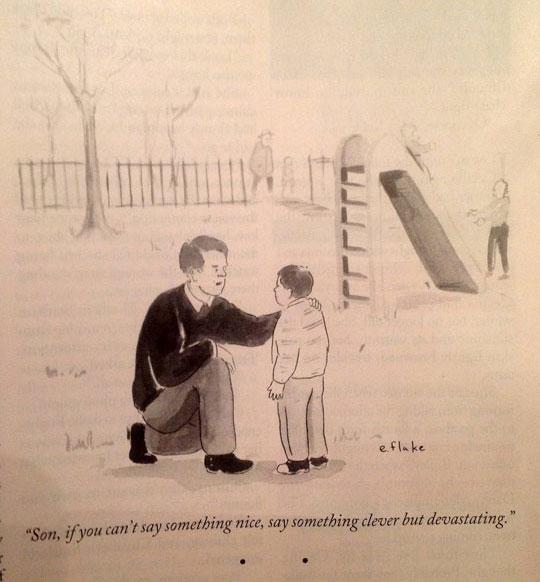 Sound Fatherly Advice