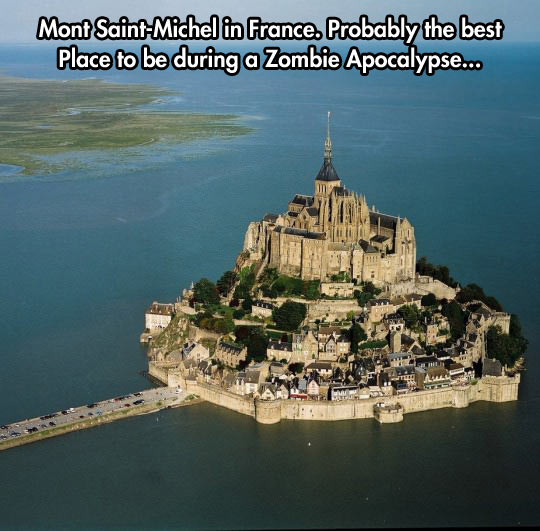 A Castle In The Middle Of The Ocean
