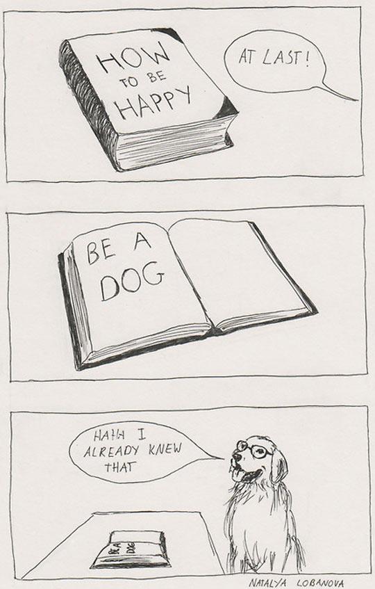 cool-comic-happiness-book-dog-glasses