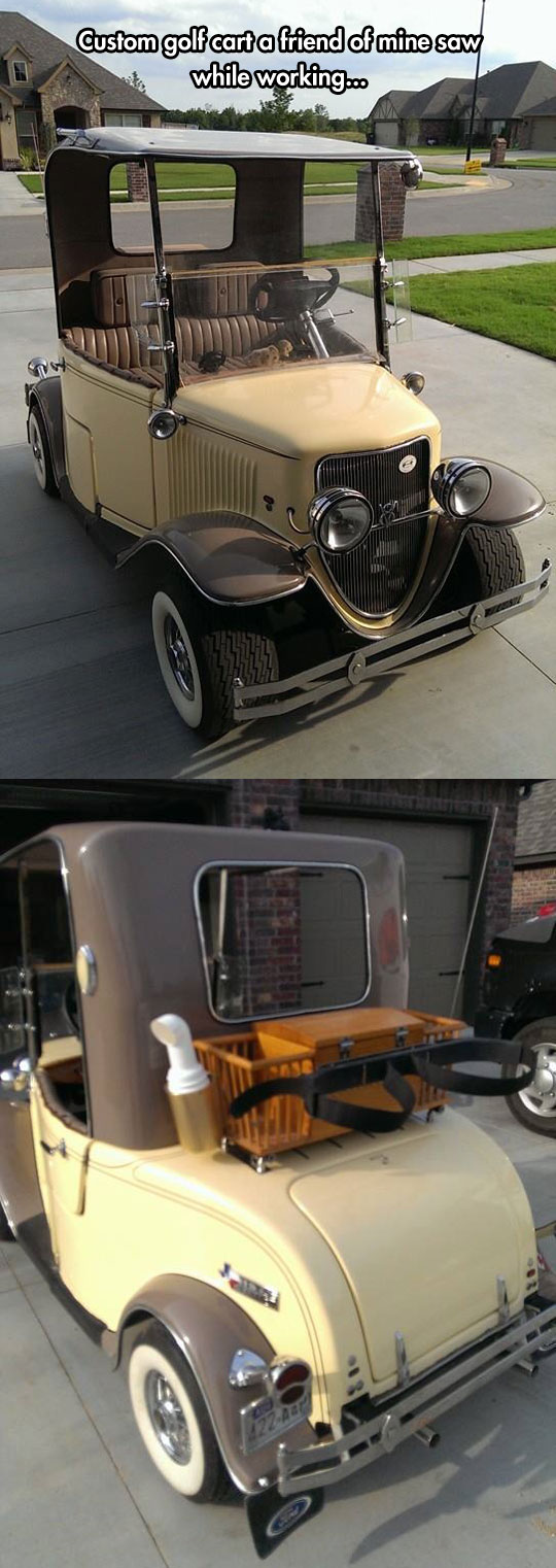 Customized Golf Cart