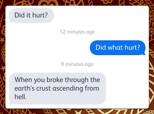 Did What Hurt?