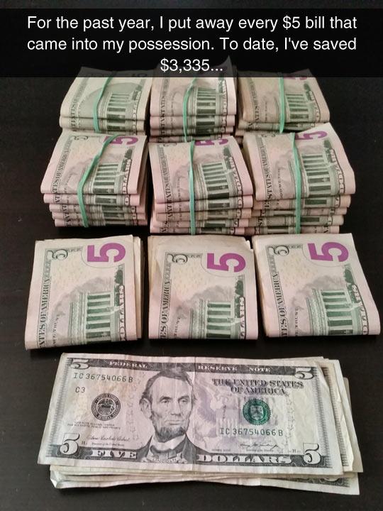 Nice Idea To Save Money