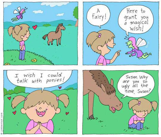 cool-girl-horse-fairy-talk-comic