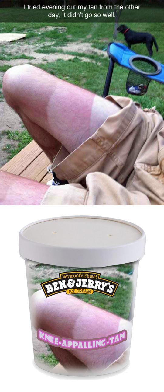 Knee Tan Flavor