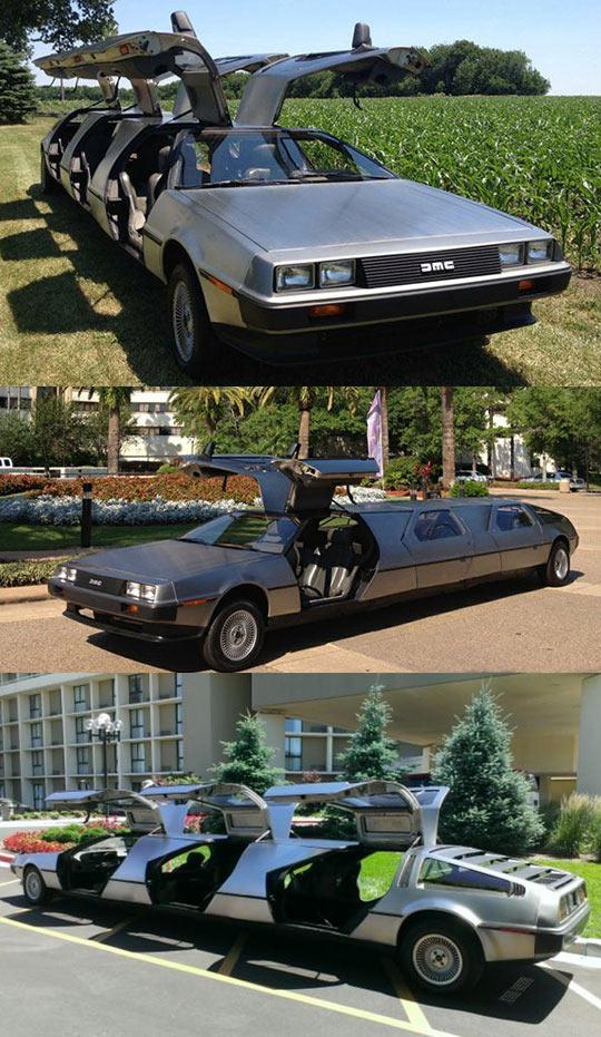 cool-limousine-DeLorean-car