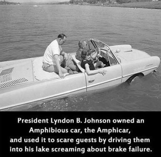 Lyndon B. Johnson Was A Real Prankster Back In The Day