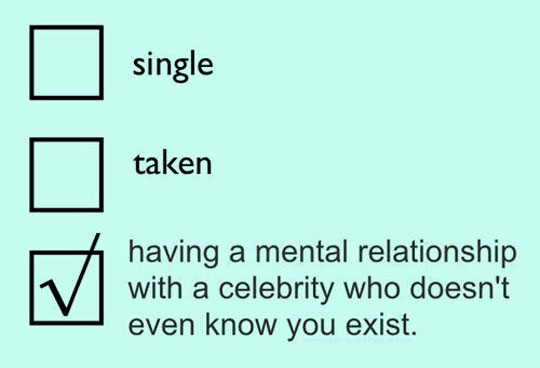 Relationship Status At The Moment