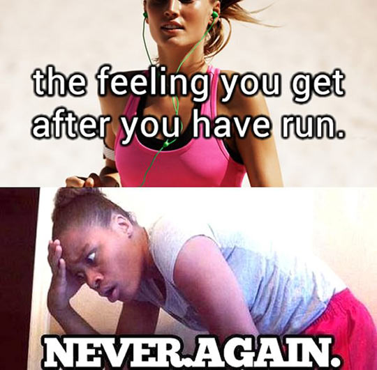 That Strange Feeling After You Run