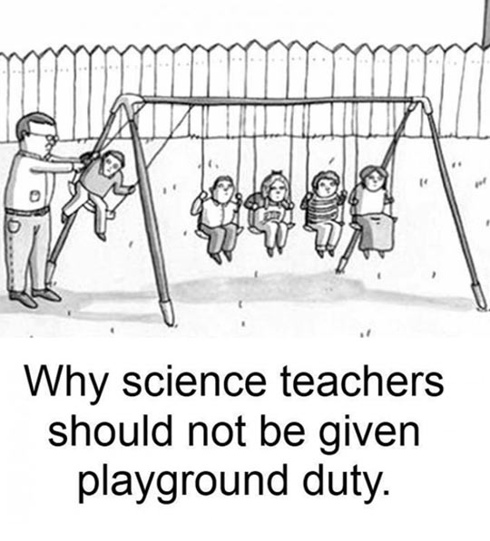 Science Teachers In The Playground