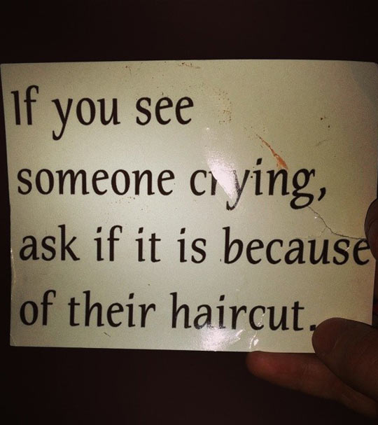 When Someone Is Crying