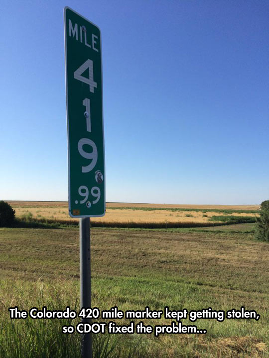 Mile Marker Fixed