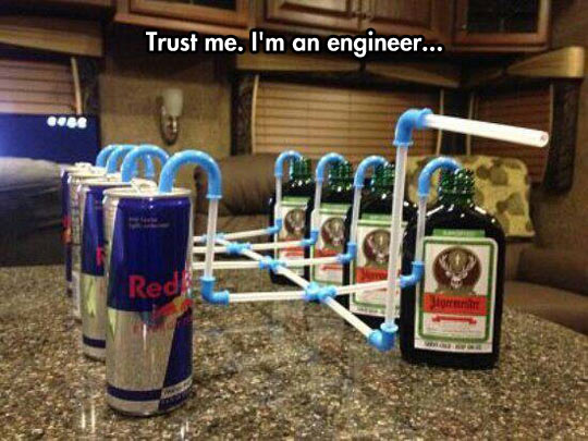 Engineers Always Find The Best Solution