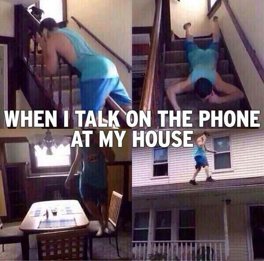 cool-talking-phone-house-walking