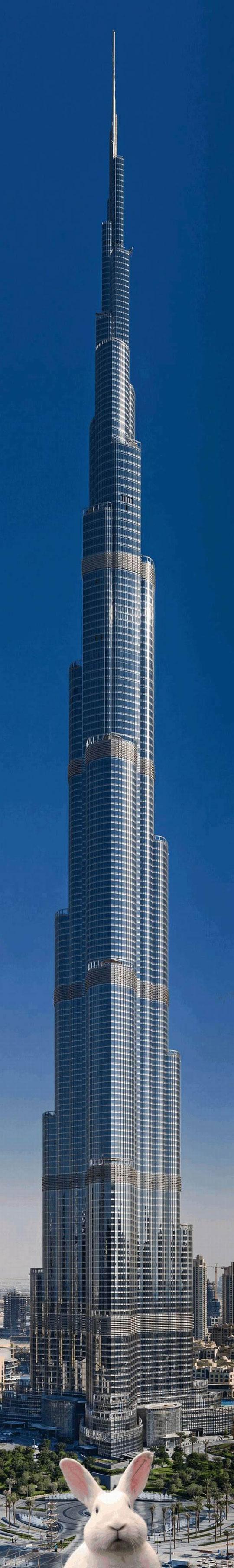 Meanwhile At The Burj Khalifa