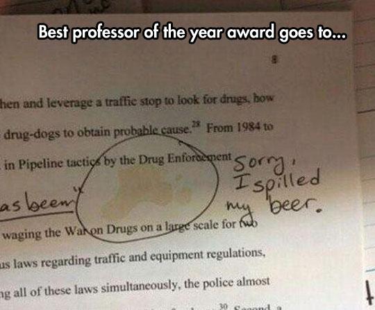 Honest Professor