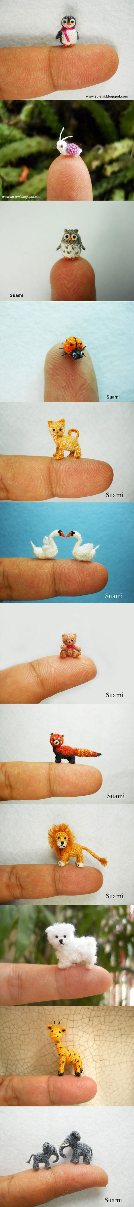 The Tiniest Animals By Suami