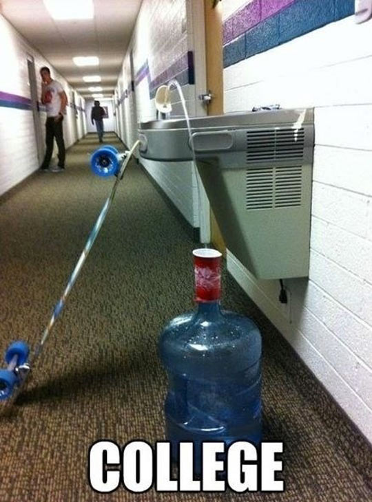 Clever College Life Hack