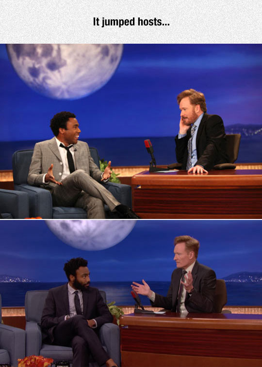 Troy And Conan In The Late Night