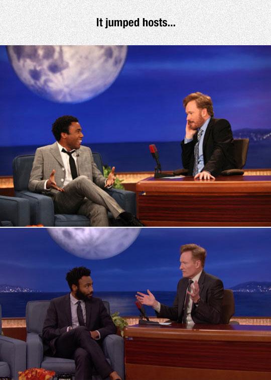 funny-Conan-guest-beard-Gambino