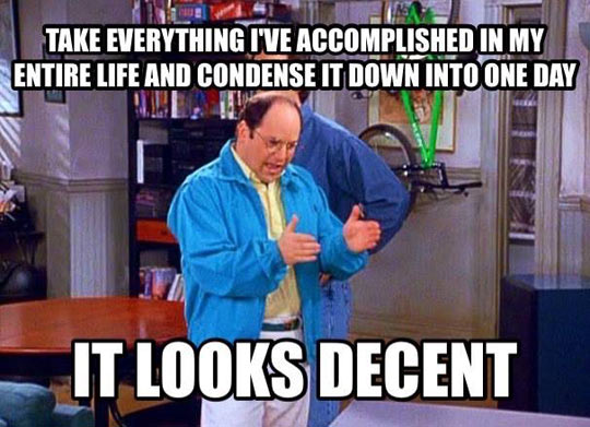 The World Through The Eyes Of Costanza