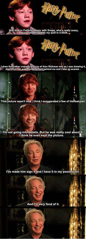 funny-Rupert-Grint-Alan-Rickman
