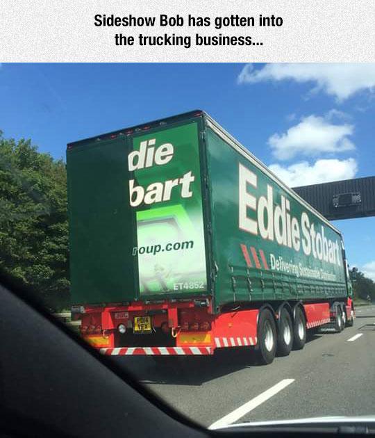 funny-Sideshow-Bob-truck-Bart
