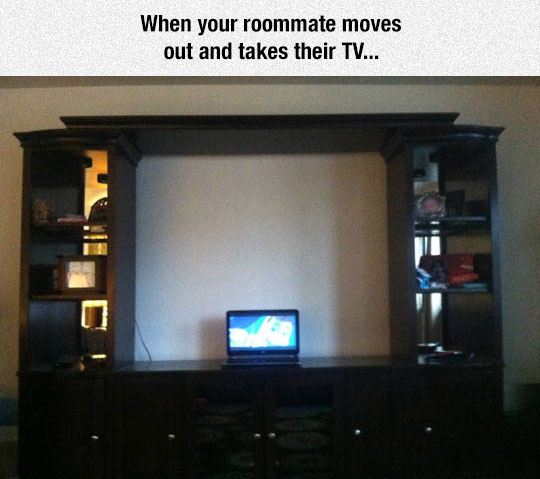 When Your Roommate Moves Out