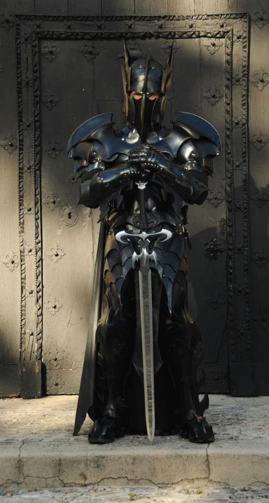 Legendary Medieval Batman Armor