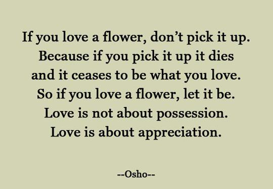 Appreciation Vs. Possession