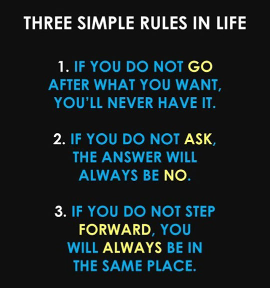 three-rules-life-answer