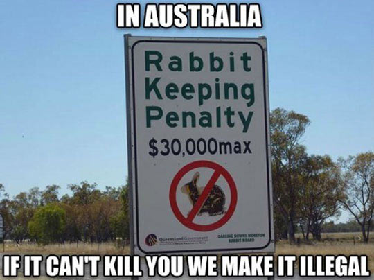 Australia-sign-rabbit-keeping-penalty