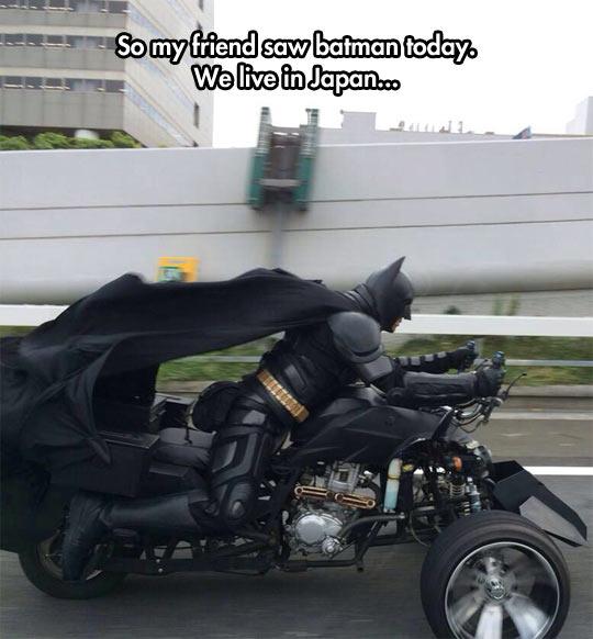 Batman Has Jurisdiction Everywhere
