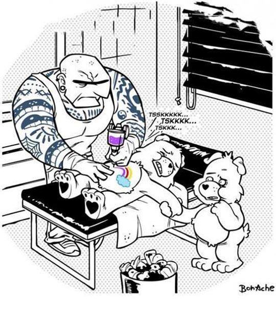 Care Bear Rainbows
