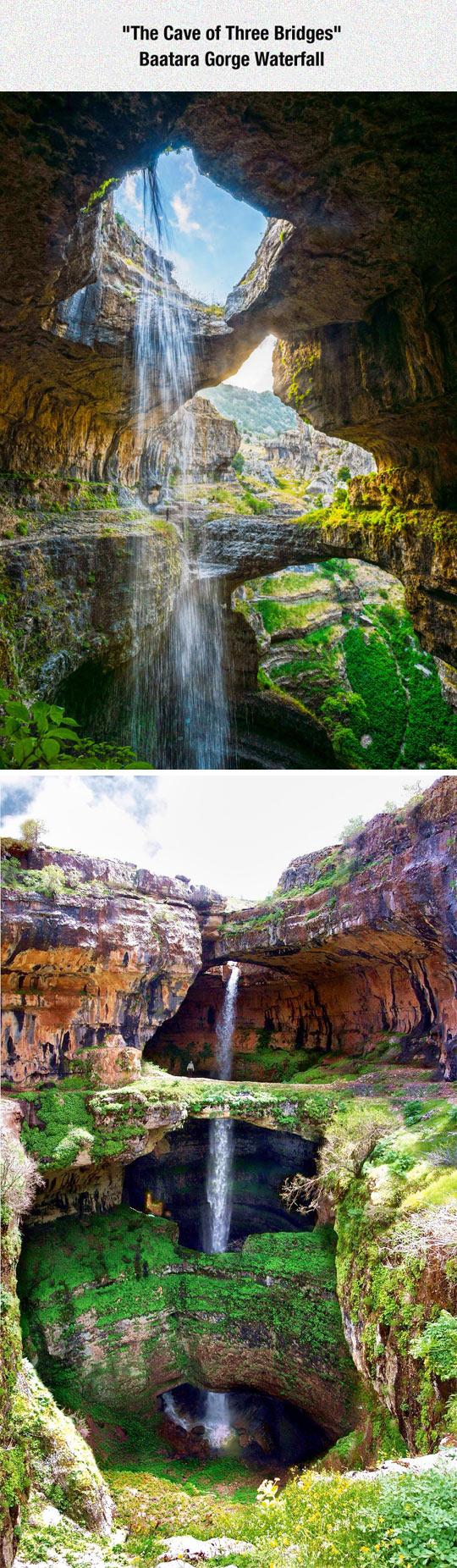 The Wonderful Cave Of Three Bridges